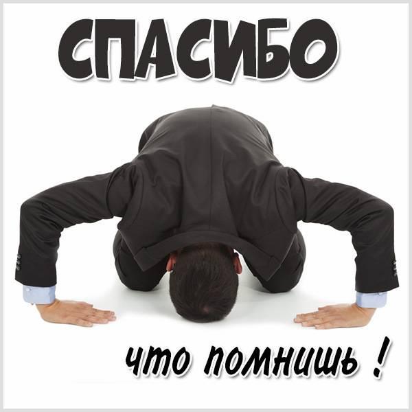 Картинка спасибо что помнишь - скачать бесплатно на otkrytkivsem.ru