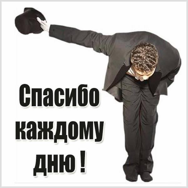 Картинка спасибо каждому дню - скачать бесплатно на otkrytkivsem.ru