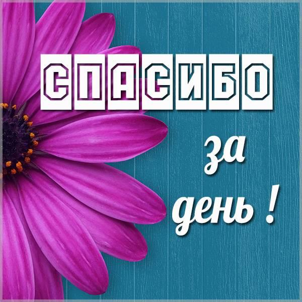 Картинка спасибо за день - скачать бесплатно на otkrytkivsem.ru