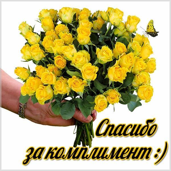 Картинка спасибо за комплимент очень красивая - скачать бесплатно на otkrytkivsem.ru