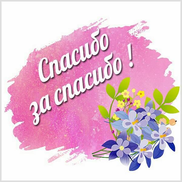 Картинка спасибо за спасибо цветы - скачать бесплатно на otkrytkivsem.ru