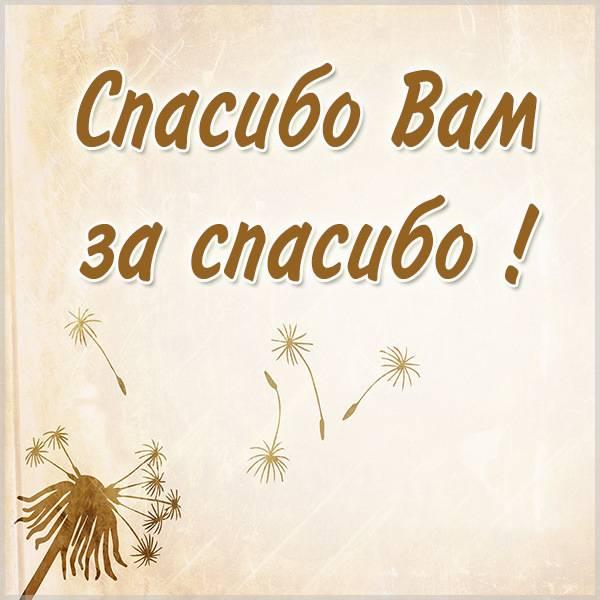Картинка спасибо за спасибо вам - скачать бесплатно на otkrytkivsem.ru