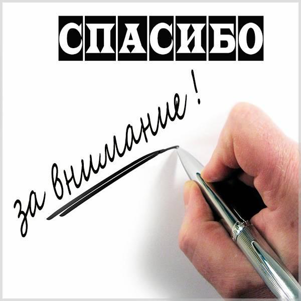 Картинка спасибо за внимание мужчине - скачать бесплатно на otkrytkivsem.ru