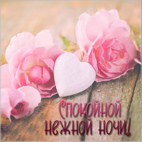 Картинка спокойной нежной ночи красивая - скачать бесплатно на otkrytkivsem.ru