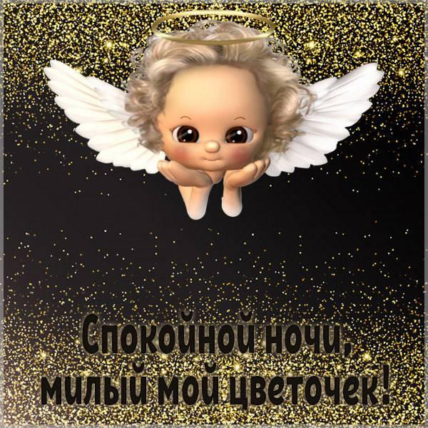 Картинка спокойной ночи девушке красивая - скачать бесплатно на otkrytkivsem.ru