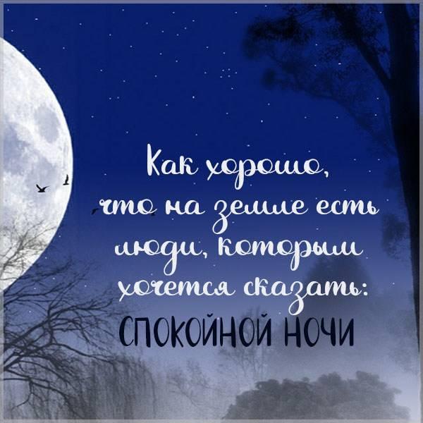 Картинка спокойной ночи лучшей подруге - скачать бесплатно на otkrytkivsem.ru
