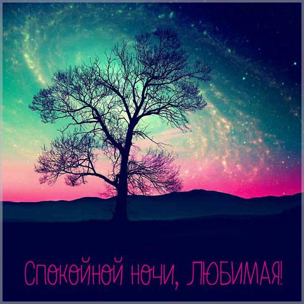 Картинка спокойной ночи любимая красивая необычная красивая - скачать бесплатно на otkrytkivsem.ru