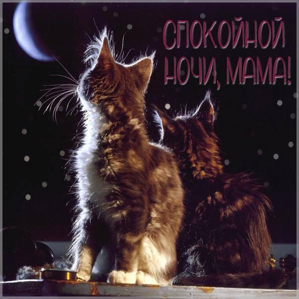 Картинка спокойной ночи мама красивая интересная - скачать бесплатно на otkrytkivsem.ru