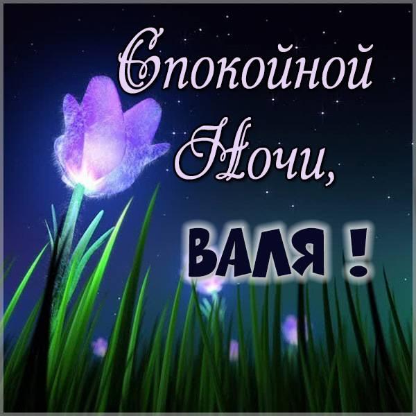 Картинка спокойной ночи Валя - скачать бесплатно на otkrytkivsem.ru