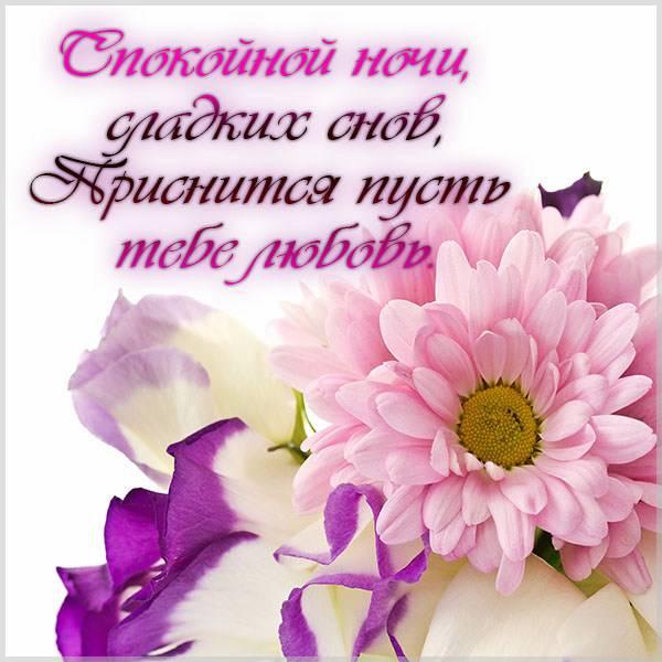 Картинка спокойной ночи женщине в стихах - скачать бесплатно на otkrytkivsem.ru