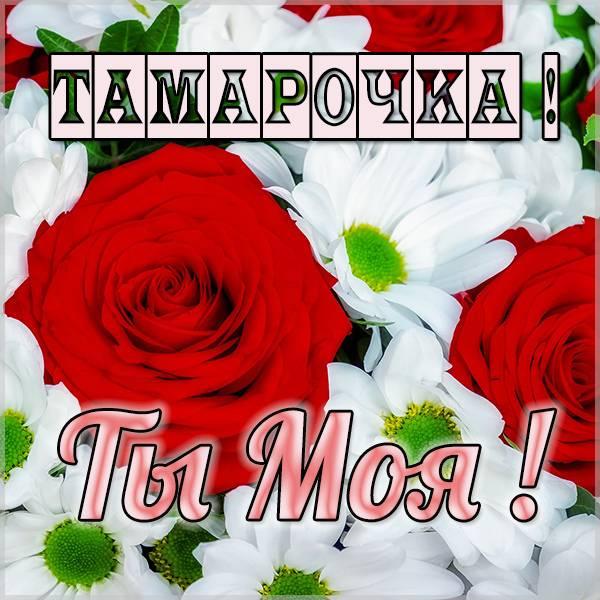 Картинка Тамарочка ты моя - скачать бесплатно на otkrytkivsem.ru