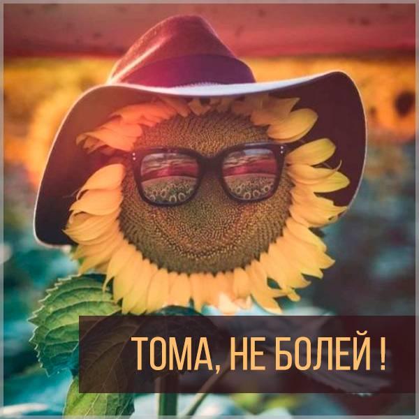 Картинка Тома не болей - скачать бесплатно на otkrytkivsem.ru