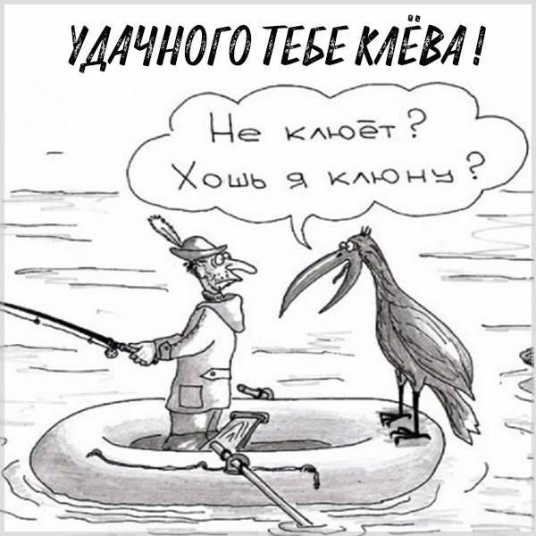Картинка удачного клева на рыбалке - скачать бесплатно на otkrytkivsem.ru