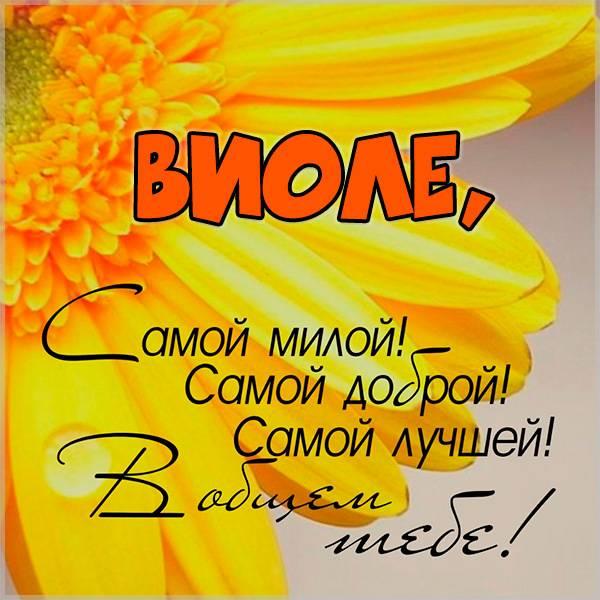 Картинка Виоле - скачать бесплатно на otkrytkivsem.ru