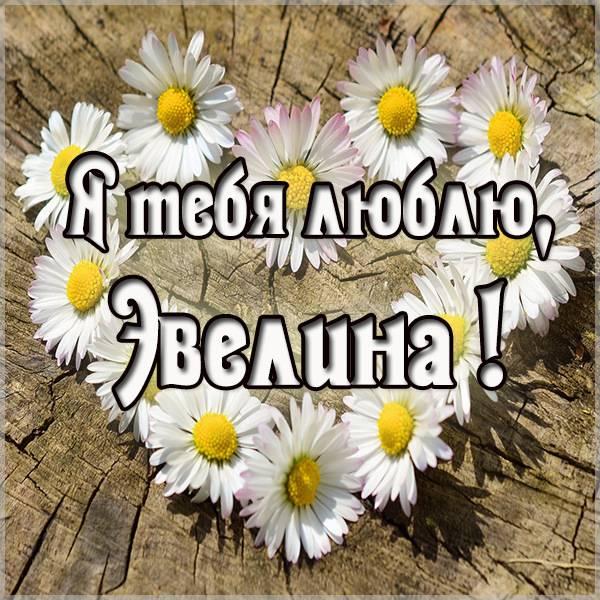 Картинка я люблю Эвелину - скачать бесплатно на otkrytkivsem.ru