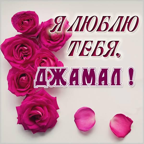 Картинка я люблю тебя Джамал - скачать бесплатно на otkrytkivsem.ru