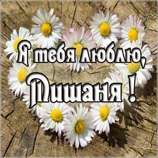 Картинка я люблю тебя Мишаня - скачать бесплатно на otkrytkivsem.ru
