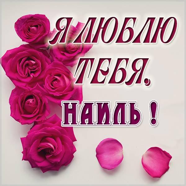 Картинка я люблю тебя Наиль - скачать бесплатно на otkrytkivsem.ru