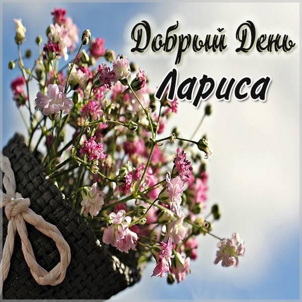 Красивая картинка добрый день Лариса - скачать бесплатно на otkrytkivsem.ru