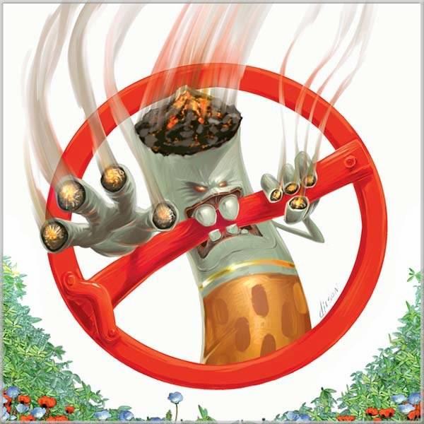 Красивая картинка на день без табака - скачать бесплатно на otkrytkivsem.ru