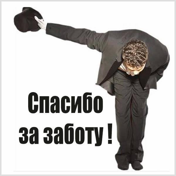 Красивая картинка спасибо за заботу - скачать бесплатно на otkrytkivsem.ru