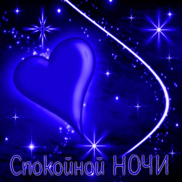 Красивая картинка спокойной ночи мужчине - скачать бесплатно на otkrytkivsem.ru