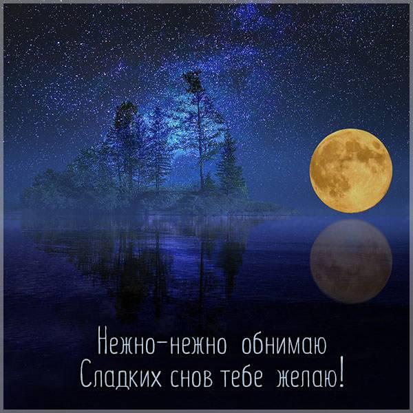 Красивая открытка мужу на ночь любимому - скачать бесплатно на otkrytkivsem.ru