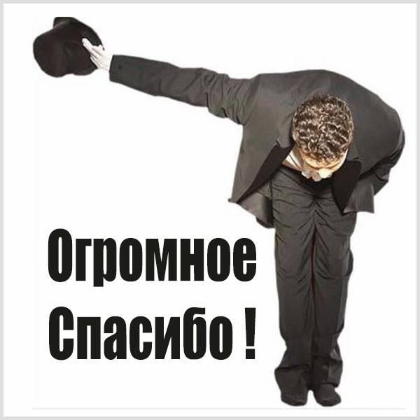 Красивая открытка огромное спасибо - скачать бесплатно на otkrytkivsem.ru