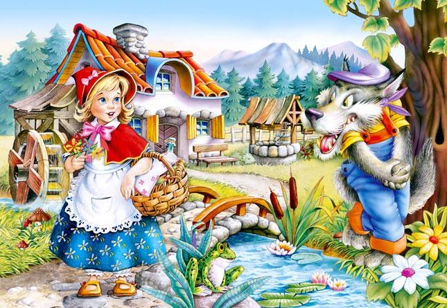Красная шапочка изображение - скачать бесплатно на otkrytkivsem.ru
