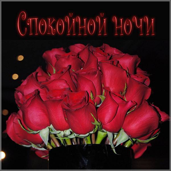 Модная картинка спокойной ночи - скачать бесплатно на otkrytkivsem.ru