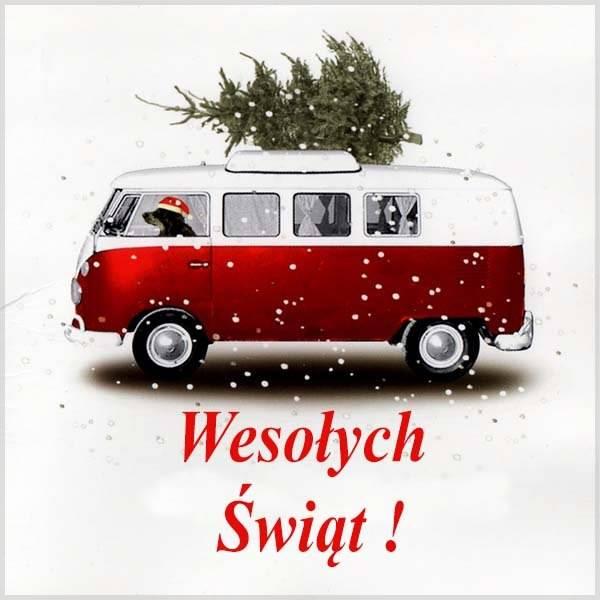Открытка на польский Новый год - скачать бесплатно на otkrytkivsem.ru