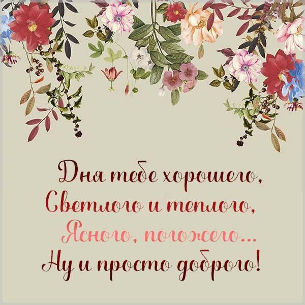 Необычная прикольная картинка доброго дня - скачать бесплатно на otkrytkivsem.ru
