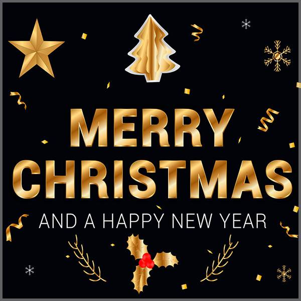 Рождественская и новогодняя открытка на английском языке - скачать бесплатно на otkrytkivsem.ru