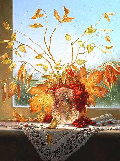 Осень рисунок - скачать бесплатно на otkrytkivsem.ru