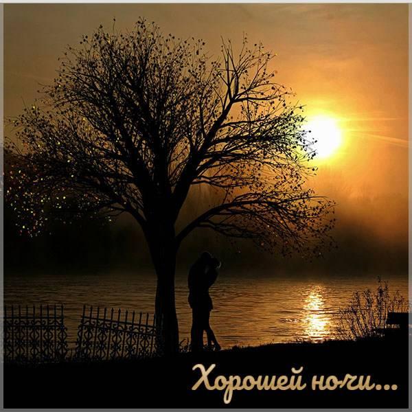Открытка хорошей ночи мужчине - скачать бесплатно на otkrytkivsem.ru