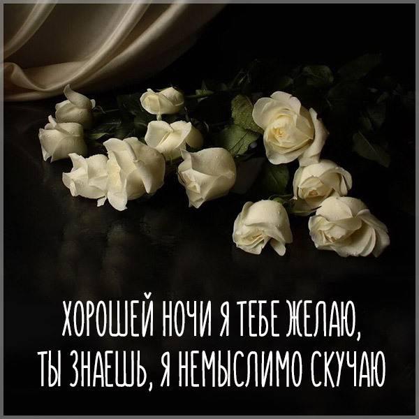 Открытка хорошей ночи - скачать бесплатно на otkrytkivsem.ru