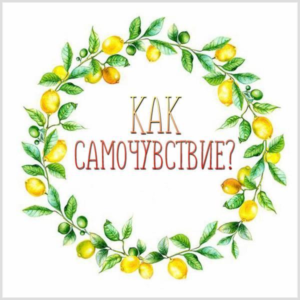 Открытка как самочувствие - скачать бесплатно на otkrytkivsem.ru