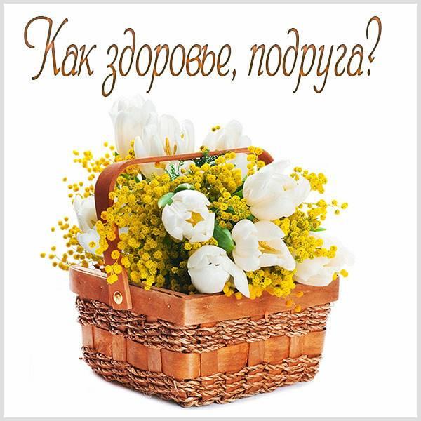 Открытка как здоровье подруга - скачать бесплатно на otkrytkivsem.ru