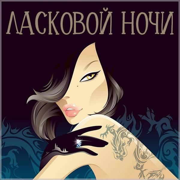 Открытка ласковой ночи мужчине - скачать бесплатно на otkrytkivsem.ru