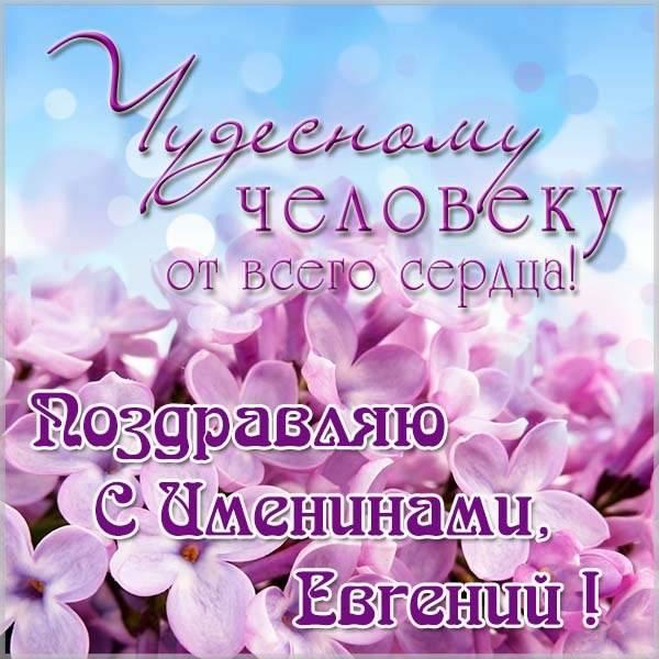 Открытка на день Евгения с поздравлением - скачать бесплатно на otkrytkivsem.ru