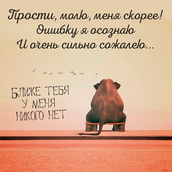 Открытка простить близкого человека - скачать бесплатно на otkrytkivsem.ru