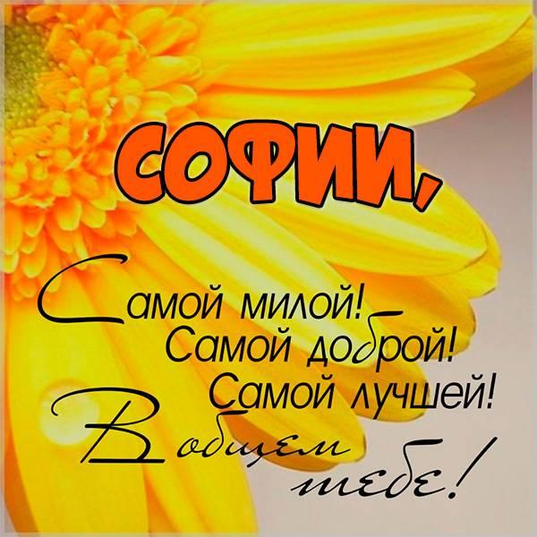 Открытка с именем София - скачать бесплатно на otkrytkivsem.ru