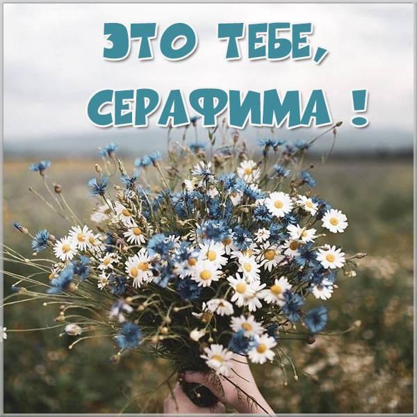 Открытка Серафима это тебе - скачать бесплатно на otkrytkivsem.ru