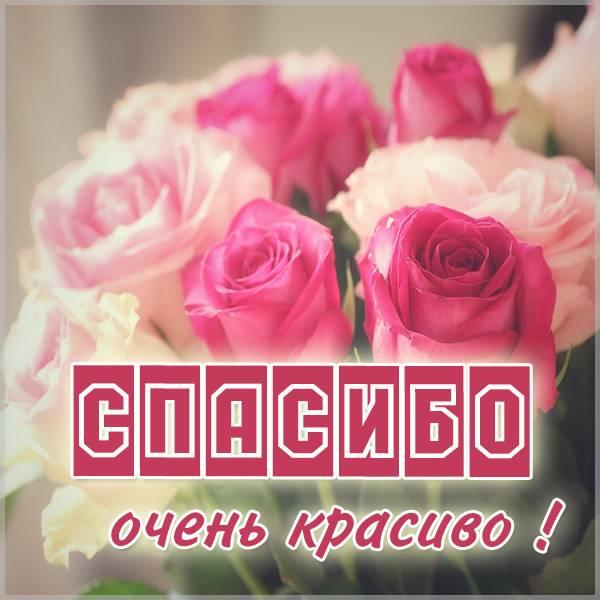 Открытка спасибо очень красиво - скачать бесплатно на otkrytkivsem.ru