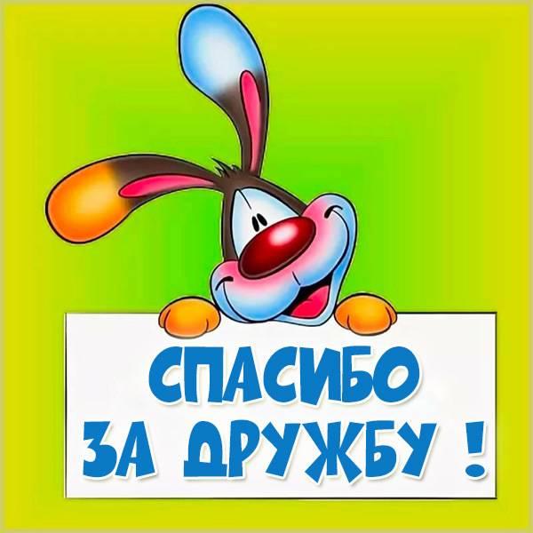 Открытка спасибо за дружбу - скачать бесплатно на otkrytkivsem.ru
