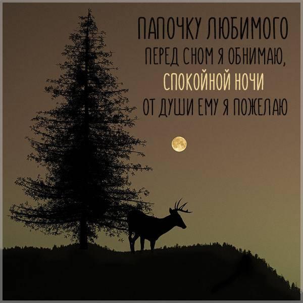 Открытка спокойной ночи папочка - скачать бесплатно на otkrytkivsem.ru