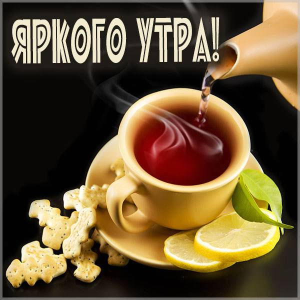 Открытка яркого утра - скачать бесплатно на otkrytkivsem.ru
