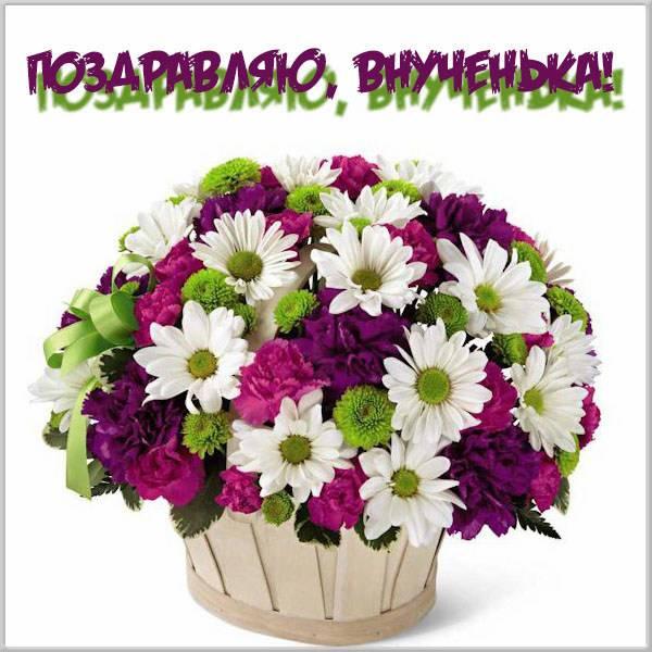 Поздравительная открытка внучке - скачать бесплатно на otkrytkivsem.ru