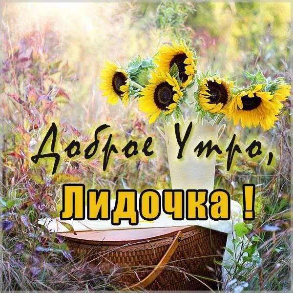 Пожелание доброе утро Лидочка в картинке - скачать бесплатно на otkrytkivsem.ru