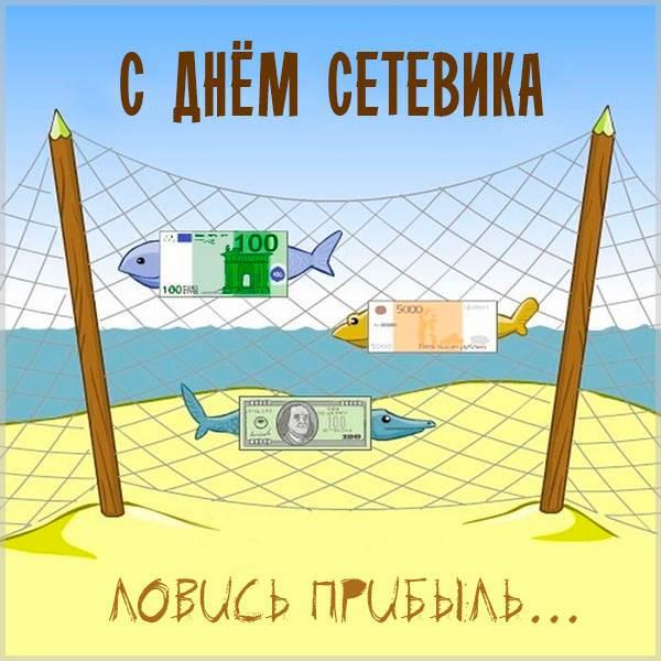 Прикольная картинка на день сетевика - скачать бесплатно на otkrytkivsem.ru